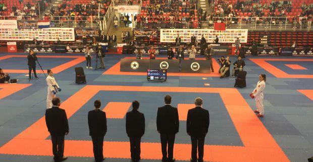 Karateciler dünya şampiyonasından 2 gümüşle döndü