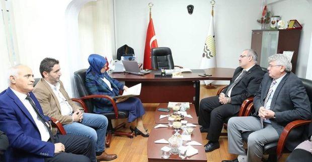 Katırcıoğlu'ndan TMO'ya Ziyaret
