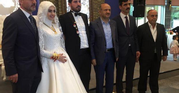 Kerim Pala oğlunu evlendirdi