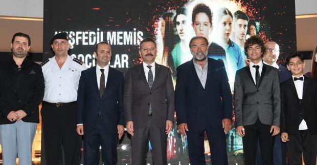 """""""Keşfedilmemiş Çocuklar"""" Filminin Galası Sayın Valimizin Katılımlarıyla Gerçekleştirildi."""