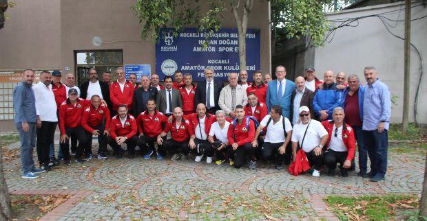 Kıbrıslı spor ailesi Kocaeli'de buluştu.