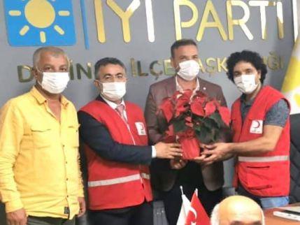 Kızılay'dan İYİ Parti'ye ziyaret