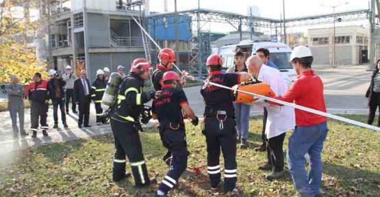 KOBİTEM' den özel firmalara acil durum eğitimi