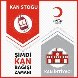 """Kocaeli Kızılay'dan 'Acil"""" Kan Bağış Çağrısı"""