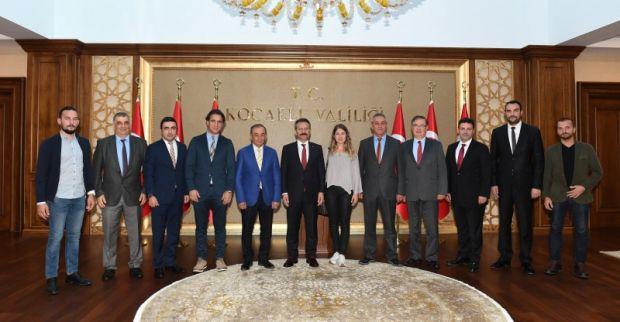 Kocaeli Otel ve Turistik Tesis İşletmesi Derneği Başkanı Sayın Valimizi Ziyaret Etti