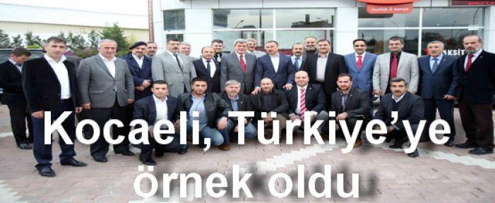 Kocaeli, Türkiye'ye örnek oldu