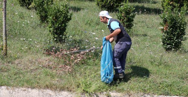 Kocaeli'de bayram temizliği