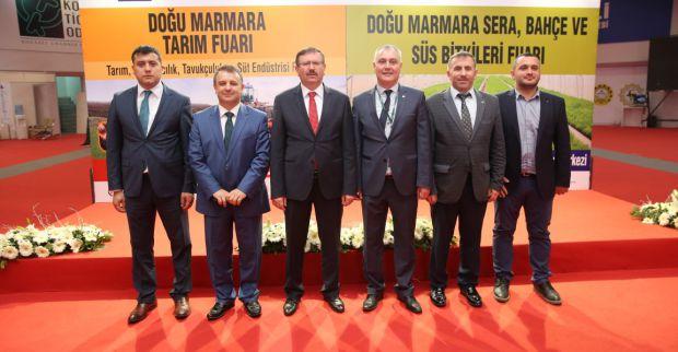 Kocaeli'de sanayi ile birlikte tarım da güçleniyor