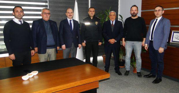 Körfez İlçe Emniyet Müdürü'nden KTO'ya ziyaret