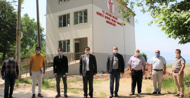 Körfez Sosyal Hizmetler Merkezi Müdürlüğü Binası  Teslim Edildi