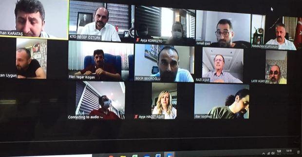 Körfez Ticaret Odası'nda Komite Toplantıları Aksamıyor