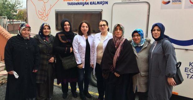 Körfez'de 1.109 vatandaşa kanser taraması