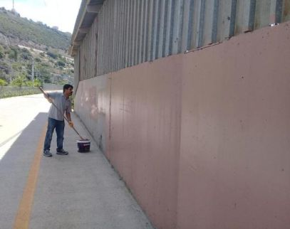 Körfez'de 'duvar' temizliği