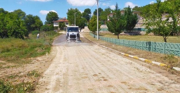 Körfez'in köylerinde temizlik seferberliği