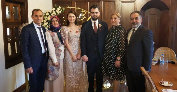 Körfezli Onur, evliliğe ilk adımını attı
