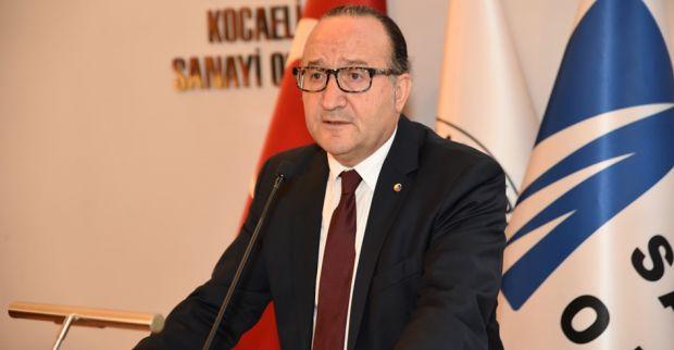 KSO Başkanı Zeytinoğlu Kocaeli dış ticaret rakamlarını değerlendirdi