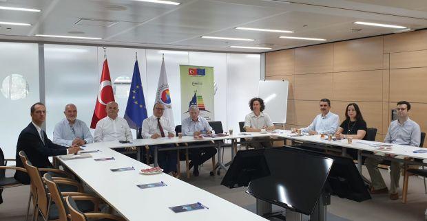 KSO heyeti AB destekli Enerji Verimliliği Projesi çerçevesinde Belçika'ya çalışma ziyareti gerçekleştirdi.