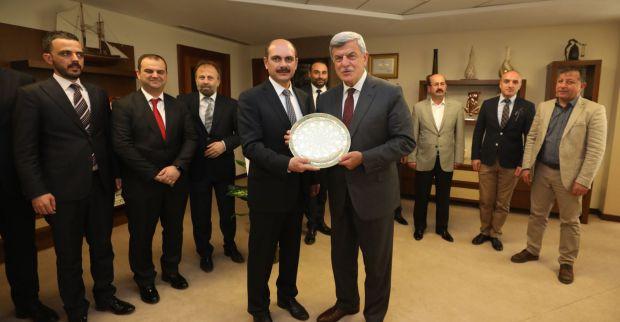 KTO'dan İbrahim Karaosmanoğlu'na Ziyaret