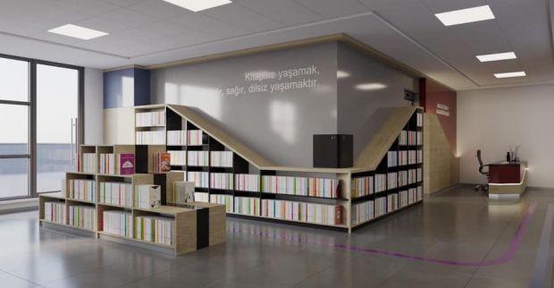 Kütüphane zincirlerine  Körfez ve Dilovası'da eklendi