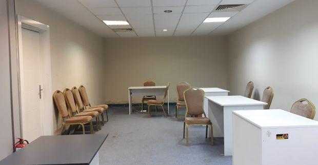 Lojistik merkezi deposu Uluslararası Fuar Merkezi'nde olacak