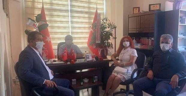 Mardinliler Derneğinden MHP'ye ziyaret