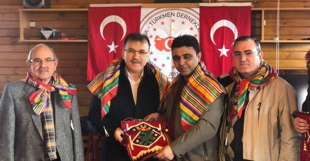 Marmara Yörük Türkmen Derneklerinde Süleyman Çetin güven tazeledi