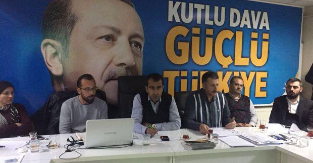 Mersincik Mahallesi Koordinasyon toplantısı Şirin başkanlığında yapıldı