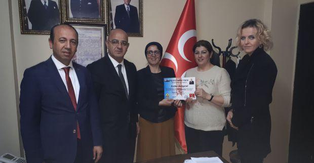 MHP Derince'de iki yeni atama yapıldı