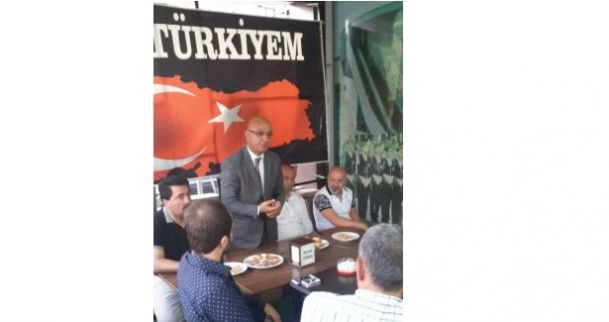 MHP , DERİNCE'DE SAHA ÇALIŞMALARINA BAŞLADI
