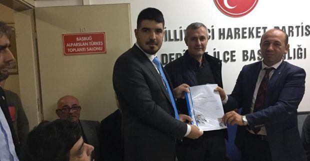 MHP'de Tayfun Tosun Meclis üyesi aday adayı oldu