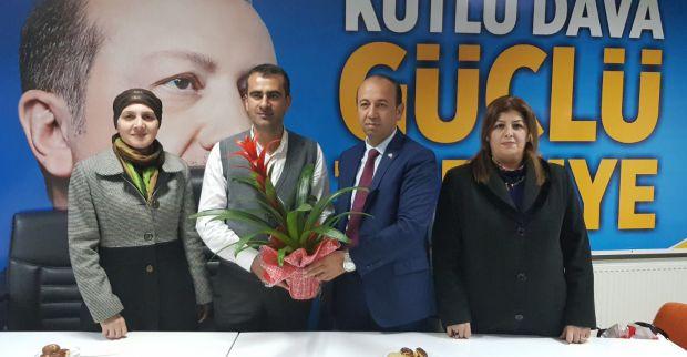 MHP'den AK Partiye hayırlı olsun ziyareti