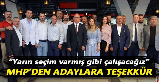 MHP'den vekil adaylarına teşekkür