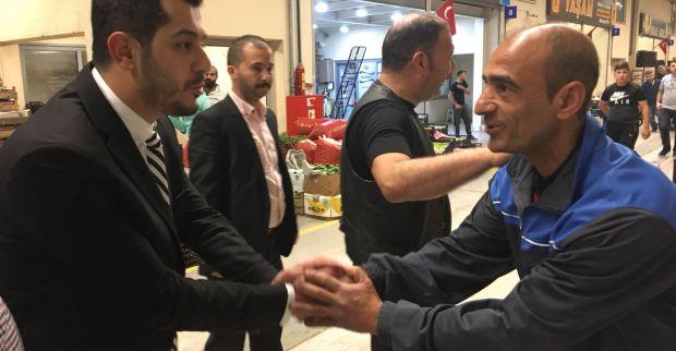 MHP'li Aday Çakıroğlu, Gece Gündüz Sahada…