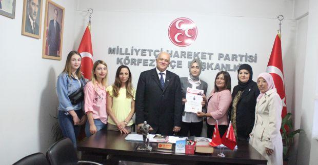 MHP'NİN  ASENALARI, EMİNE BABUCCU'YA EMANET