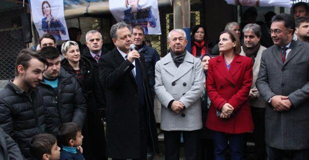Millet İttifakına Serdar-Yenidoğan'da büyük ilgi