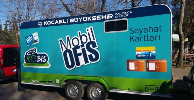 Mobil Ofis Karavanı Cebeci Sahili'nde