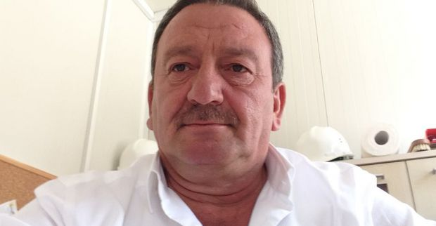 Muzaffer Keskin Kayınpederini kaybetti