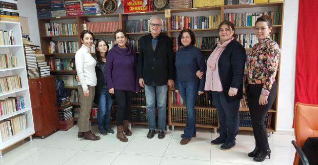 Okul Aile birliğinden ,Mezunlar derneğine ziyaret