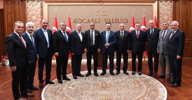 """""""Önce Türkçe"""" Projesine Katkı Sunan Organize Sanayi Bölgelerine, Teşekkür Belgesi Verildi."""