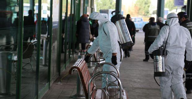 Otobüs terminali bayrama hazır