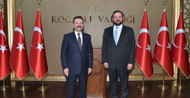 Otomobil Sporları Federasyon Başkanı Serkan Yazıcı, Valimiz Sayın Hüseyin Aksoy'a Nezaket Ziyaretinde Bulundu