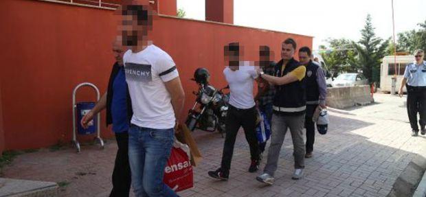 PKK şüphelisi 9 kişi tutuklandı