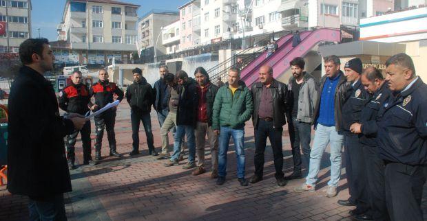 Polis Pazar'da Asayiş uygulaması yaptı