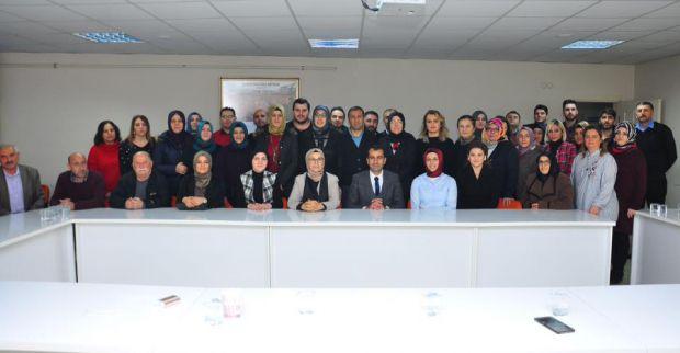Radiye Sezer Katırcıoğlu'ndan İlçeye ziyaret