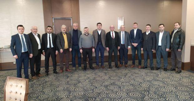 Saadet Partisi, Lastik İş Sendikası Genel Başkanı Alaaddin Sarı'yı ziyaret etti…