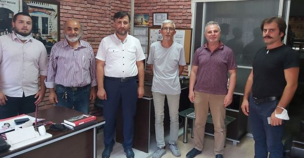 Sadet Partisi Derince'den gazetemize ziyaret