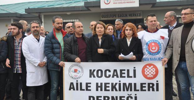 """SAĞLIKTA ŞİDDETE """"TERÖR'E"""" DUR DENİLMELİ."""