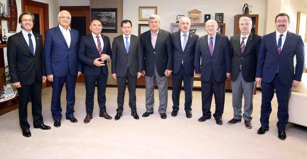 Sanayi, Ticaret ve Enerji  komisyonunu ağırladı