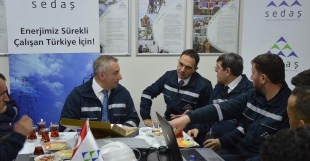 SEDAŞ İcra Başkanı Dr.Necmi Odyakmaz 2019 Yılına İşletme Bakım Ekipleri İle Girdi