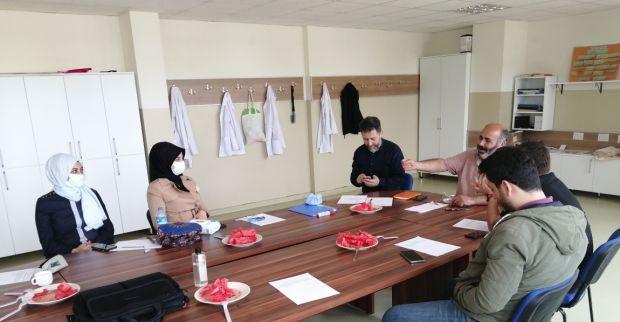 ŞEHİT SERDAR  GÖKBAYRAK İMAM HATİP ORTAOKULUNDA Gelecek Döneme Hazırlık Toplantısı Yapıldı